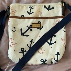 Tommy Hilfiger anchor nautical purse